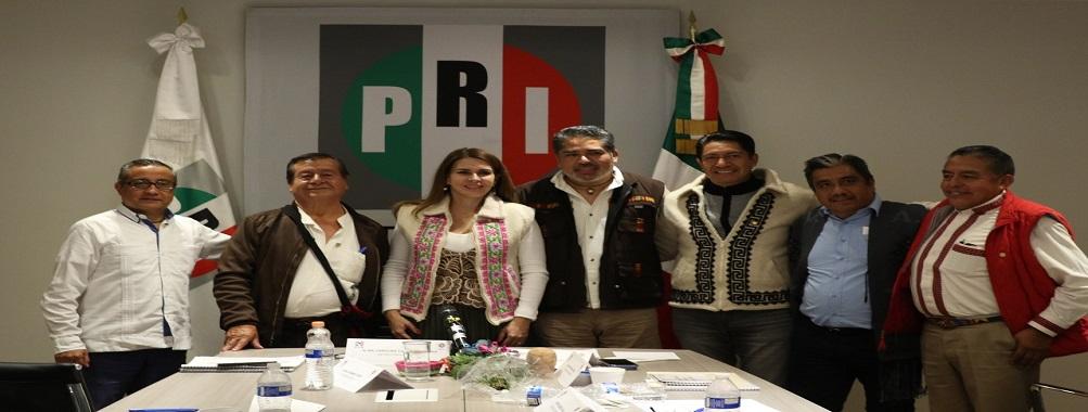 Primera Reunión Nacional con los Secretarios de Acción Indígena