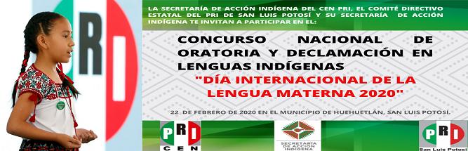 Concurso Naconal de oratoria 2020