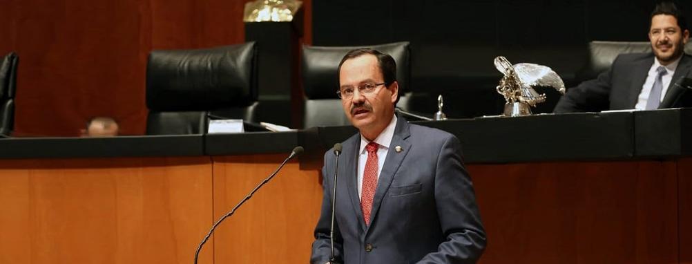 """Exhorta senador al Gobierno Federal no desaparecer el fideicomiso """"Bachillerato General en su modalidad no..."""