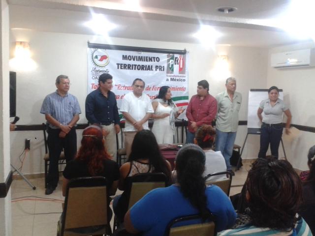 """COMITÉ DIRECTIVO ESTATAL DE OAXACA, LLEVÓ A CABO TALLER """"ESTRATEGIAS Y FORTALECIMIENTOS PARA EL TRABAJO PÁRTIDARIO"""""""