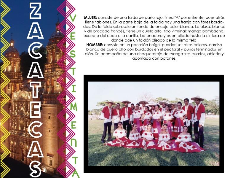 Folklore en el Estado de Zacatecas.