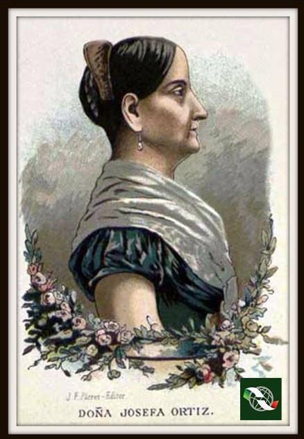 Un día como hoy de 1829, fallece en la Ciudad de México, Josefa Ortiz de Domínguez, heroína de la independencia.