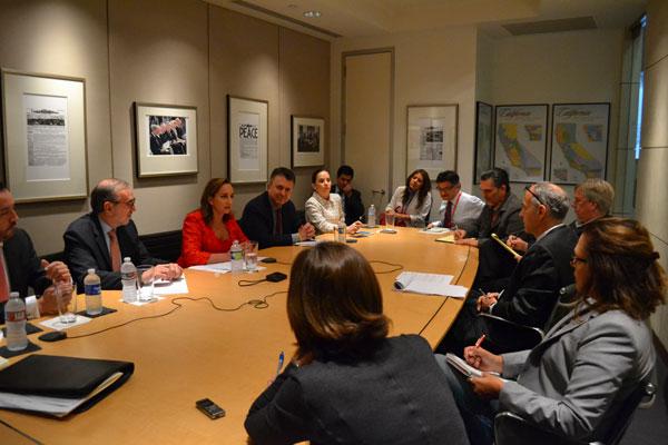 Visita De Trabajo De La Secretaria De Relaciones Exteriores Claudia Ruiz Massieu A Los Ngeles