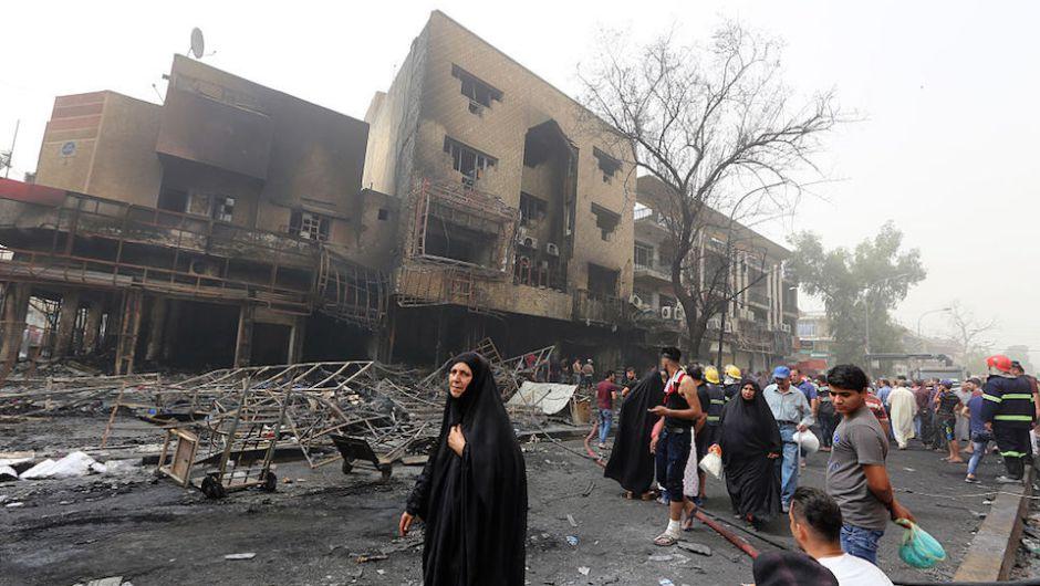 COMUNICADO: ATAQUE TERRORISTA EN BAGDAD, IRAK.