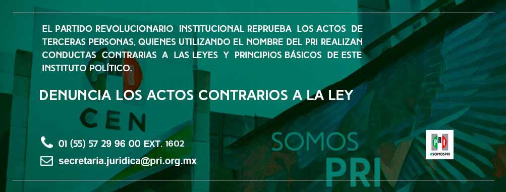 DENUNCIA LOS ACTOS CONTRARIOS A LA LEY