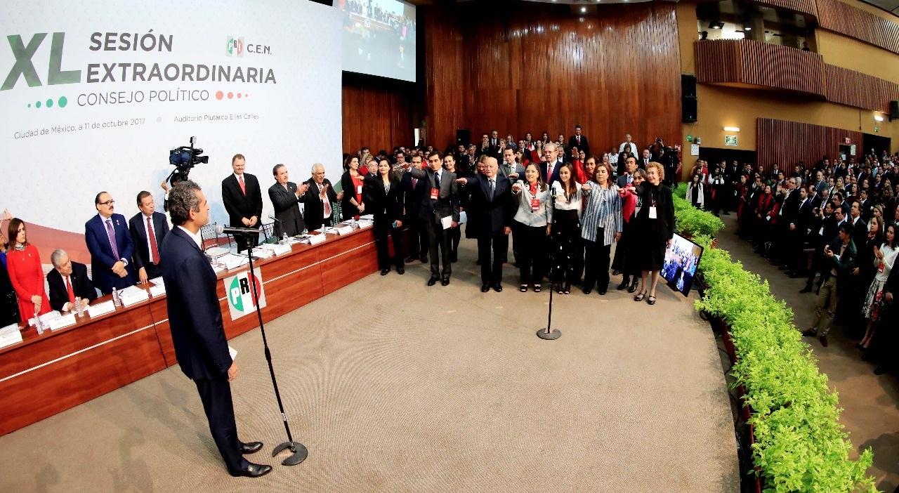 Sesión Extraordinaria XL del Consejo Político