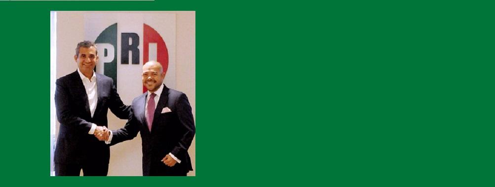 Embajador Arnulfo Valdivia. Secretario de Asuntos Internacionales del CEN del PRI.