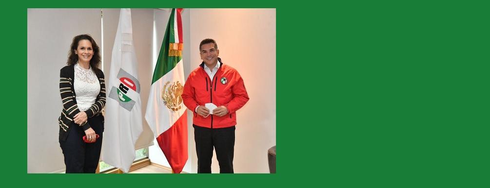 Lic. Sofía Carvajal. Secretaria de Asuntos Internacionales del CEN del PRI.