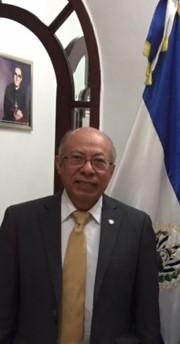 Visita al Embajador de El Salvador en México.