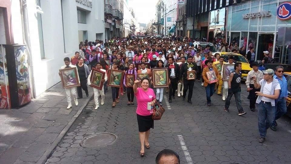 Celebración con motivo del Día del Músico, en la Secretaría de Cultura del CDE Puebla