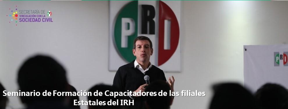 Seminario de Formación de Capacitadores de las filiales Estatales del IRH