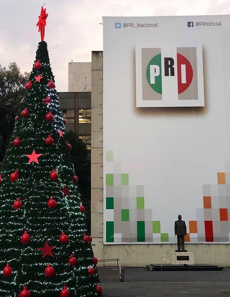 El año en el que llegó el primer árbol de Navidad a México