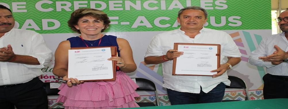 DIF Guerrero y Cinépolis firman convenio para emplear a personas con discapacidad