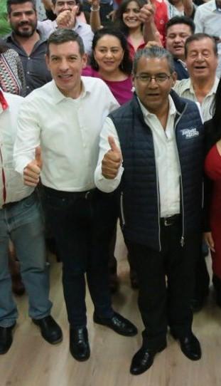 DESIGNA RUIZ MASSIEU A CASTRO REYNOSO COMO DELEGADO DEL CEN EN PUEBLA CAPITAL.