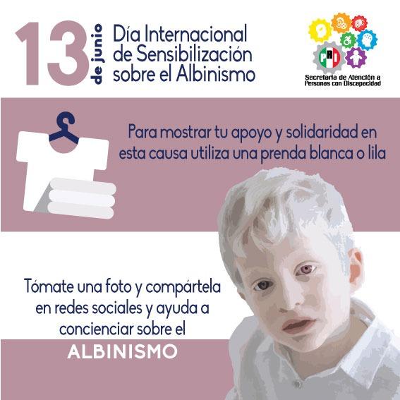 Día Mundial del Albinismo