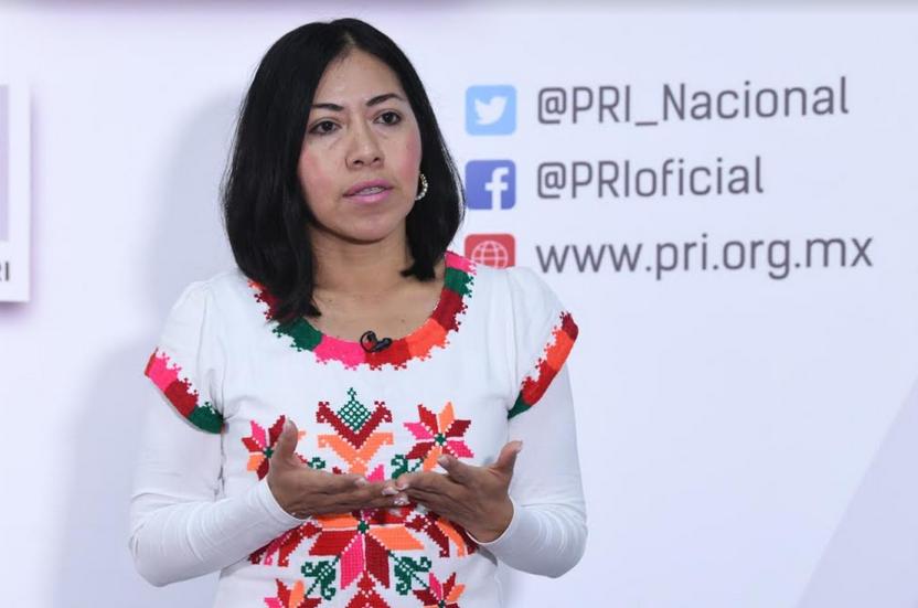 INCLUSIÓN Y PARTICIPACIÓN EFECTIVA DE LOS INDÍGENAS, TAREA FUNDAMENTAL DEL PRI: BERNARDA REYES.