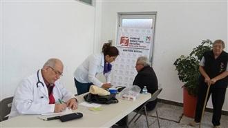 REALIZAN DICTÁMENES MÉDICOS A CIUDADANÍA DE SAN LUIS POTOSÍ