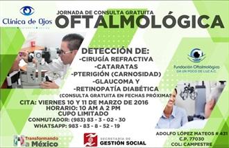 GESTIONAN CDE QUINTANA ROO SERVICIOS MÉDICOS GRATUITOS