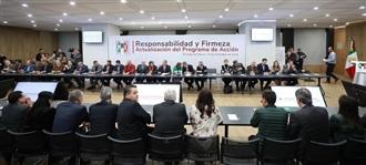 RESPONSABILIDAD Y FIRMEZA; ACTUALIZACIÓN DEL PROGRAMA DE ACCIÓN