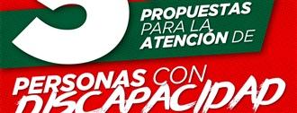 PRI PLANTEA CINCO PROPUESTAS PARA LA ATENCIÓN DE PERSONAS CON DISCAPACIDAD, ANTE EL CORONAVIRUS width=
