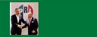 Embajador Arnulfo Valdivia. Secretario de Asuntos Internacionales del CEN del PRI. width=