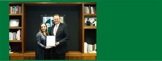 Lic. Ernesto Gándara. Secretario de Asuntos Internacionales del CEN del PRI. width=