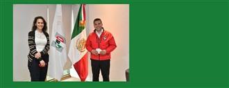 Lic. Sofía Carvajal. Secretaria de Asuntos Internacionales del CEN del PRI. width=