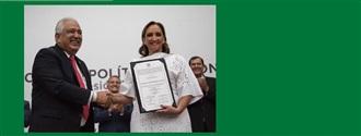 EL CONSEJO POLÍTICO NACIONAL ELIGE A CLAUDIA RUIZ MASSIEU COMO PRESIDENTA DEL CEN DEL PRI width=