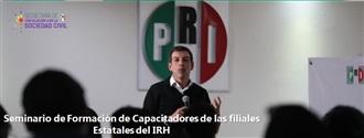Seminario de Formación de Capacitadores de las filiales Estatales del IRH width=