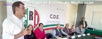 Gira de trabajo por el Estado de Michoacán width=