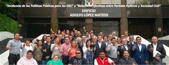 Incidencia de las Políticas Públicas para las OSC y Relaciones Efectivas Entre Partidos Políticos y Sociedad Civil width=