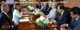 ¿Realmente fue una Victoria las negociaciones con EEUU? width=