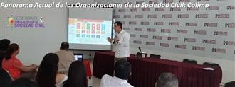 Panorama Actual de las Organizaciones de la Sociedad Civil; Colima width=