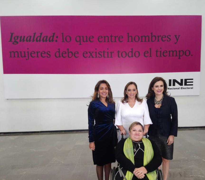 LXV Aniversario del Voto Femenino en México en el INE