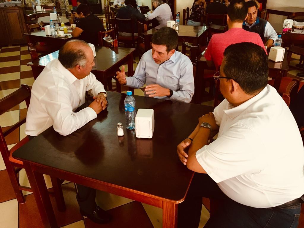 Nuevo Delegado Especial del CEN en Puebla Capital, Miguel Castro Reynoso
