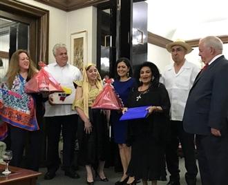 Cena de despedida a los Embajadores de Ecuador y Panamá