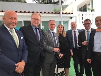 Despedida a los Embajadores de República Checa, Austria y Hungría