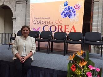 """Exposición de pintura """"Colores de Corea"""""""