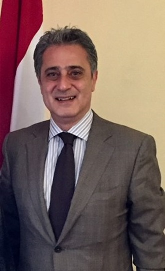 Visita al Embajador de Egipto en México.