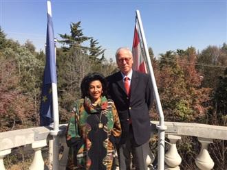Visita al Embajador de Austria en México.