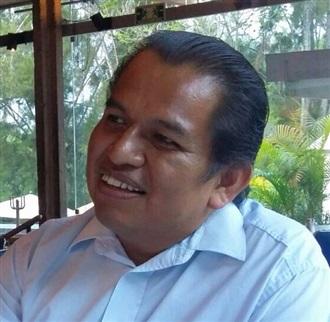 El orador Ángel Daniel Torruco/ Fernando Hernández