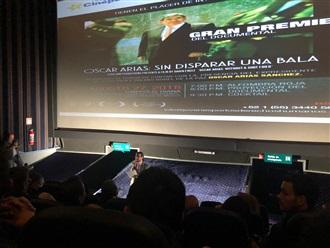 """Proyección fílmica del documental """"Oscar Arias: Sin Disparar una bala"""""""