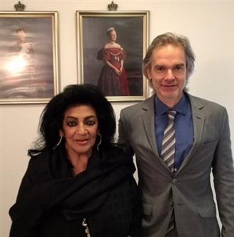 Visita de cortesía al recién llegado Embajador de Dinamarca