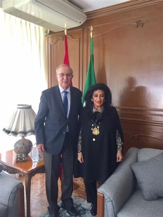 Visita de Cortesía al Embajador de Marruecos en México.