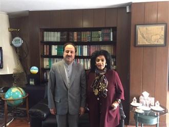 Visita de Cortesía al Embajador de Irán en México.