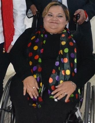 Participación de la Maestra Norma Aceves en el marco del Foro Especial  en Materia de Derechos de las Pers...
