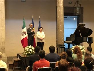 Concierto de música contemporánea rumana.