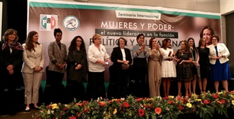 """Seminario Internacional """"Mujeres y poder: el nuevo liderazgo en la función política y ciudadana"""""""