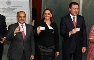 CONFERENCIA DE PRENSA OFRECIDA POR MIGUEL ÁNGEL OSORIO CHONG Y CLAUDIA RUIZ MASSIEU EN EL SENADO DE LA REPÚBLICA