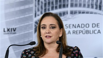 INTERVENCIÓN DE LA SENADORA CLAUDIA RUIZ MASSIEU EN LA CONFERENCIA DE PRENSA QUE SE OFRECIÓ EN EL SENADO DE LA REPÚBLICA